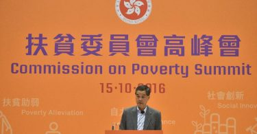 cy leung commission on poverty