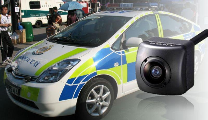 police car cctv