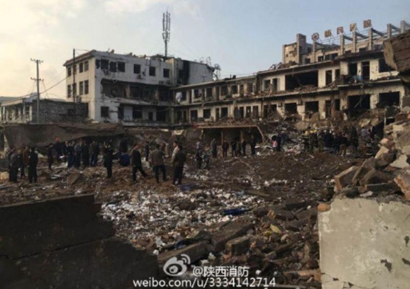 shaanxi explosion