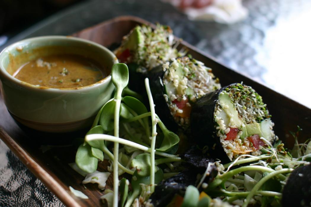 Raw Vegan Lunch