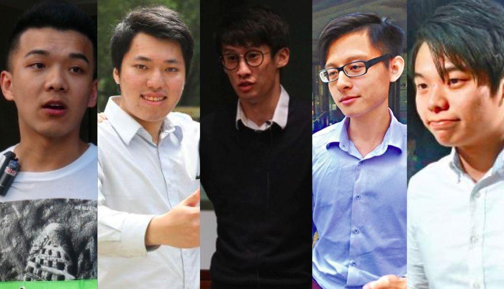 Wong Chun-yeung Wong Hok-lai Sixtus Leung Chung-hang Tsang Ka-lam Lee Man-ho