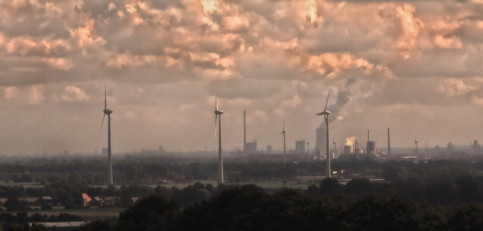 The Ruhr industrial area. Foto-Rabe, via Pixabay.
