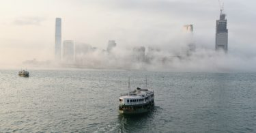 star-ferry-victoria-harbour-fog