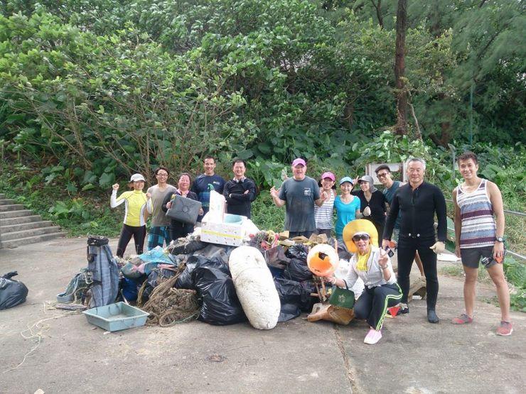 Living Seas Hong Kong beach cleanup