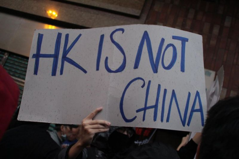 hong kong independence self determination protest