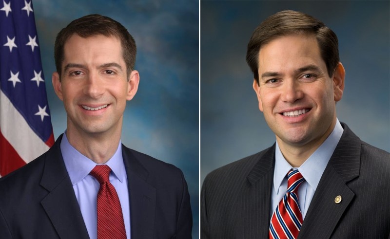 Tom Cotton Marco Rubio