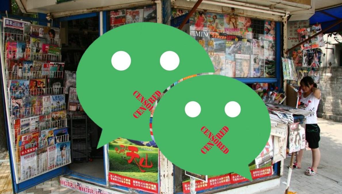 wechat news censorship