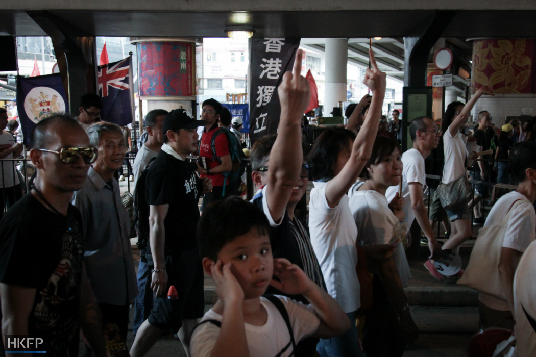 hong kong independence july first