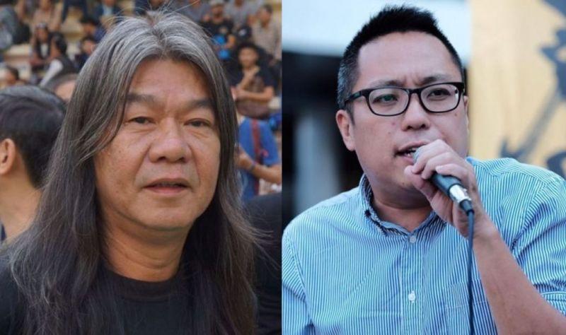Tam Tak-chi long hair