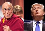 The Dalai Lama and Donald Trump