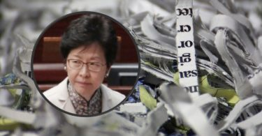 carrie lam shredder
