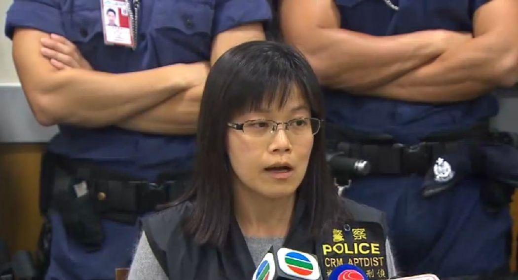 Cheang Mei-yiu airport robbery