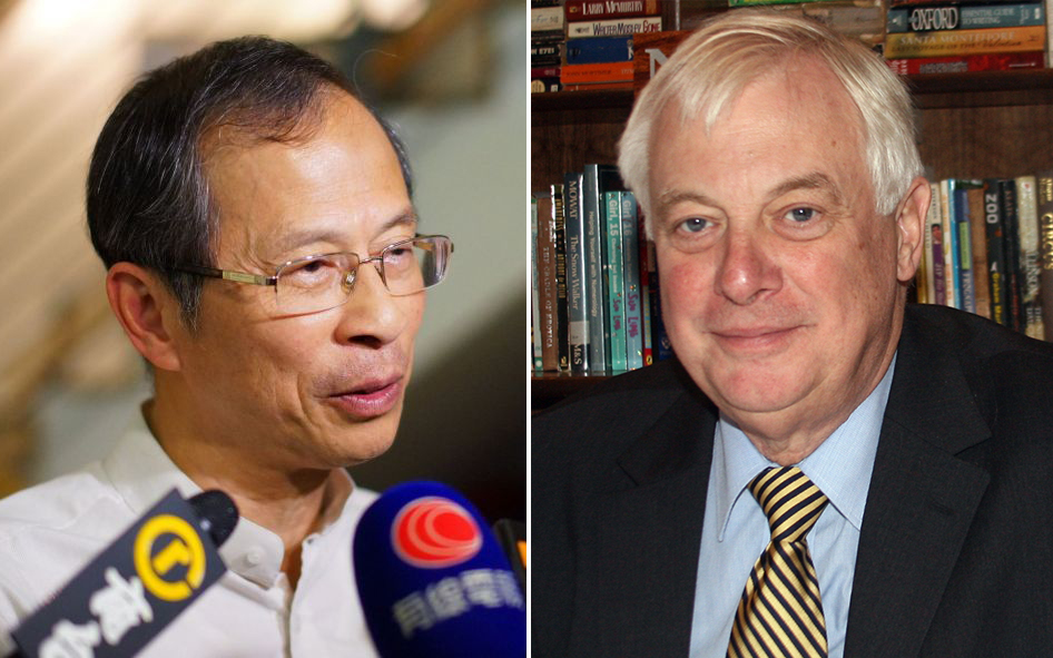 Jasper Tsang Chris Patten