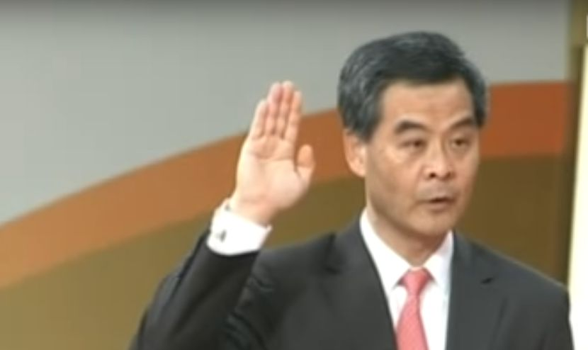 cy leung oath