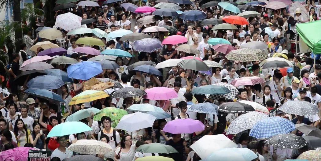 raise the umbrellas