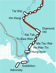 Shatin Central MTR