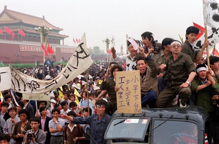 paper about massacre at tianamen square