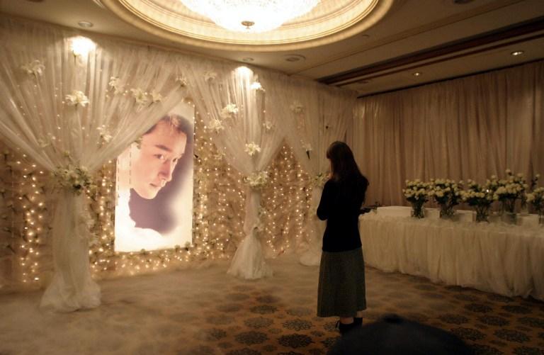 Leslie Cheung shrine