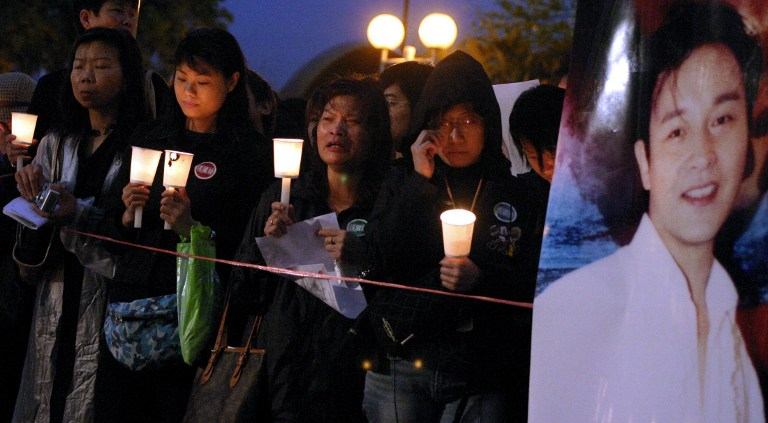 Leslie Cheung death