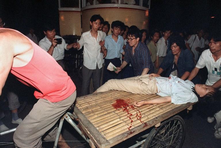 tiananmen square massacre crackdown 1989 bloodshed