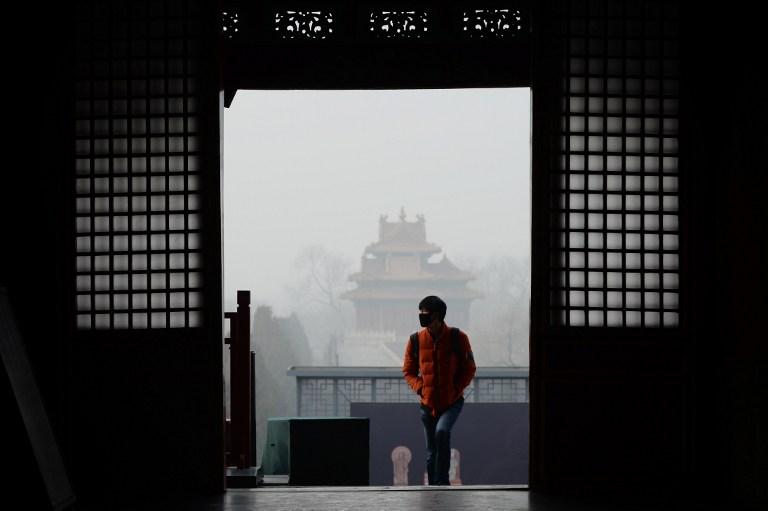 china smog pollution