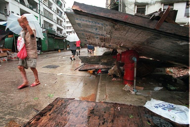 typhoon Victor