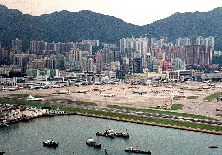 kai tak kowloon city closure