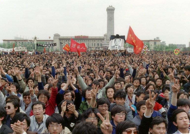 students tiananmen square massacre crackdown 1989