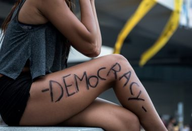 legs admiralty democracy occupy hong kong protest girl woman