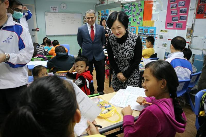 regina ip visiting school