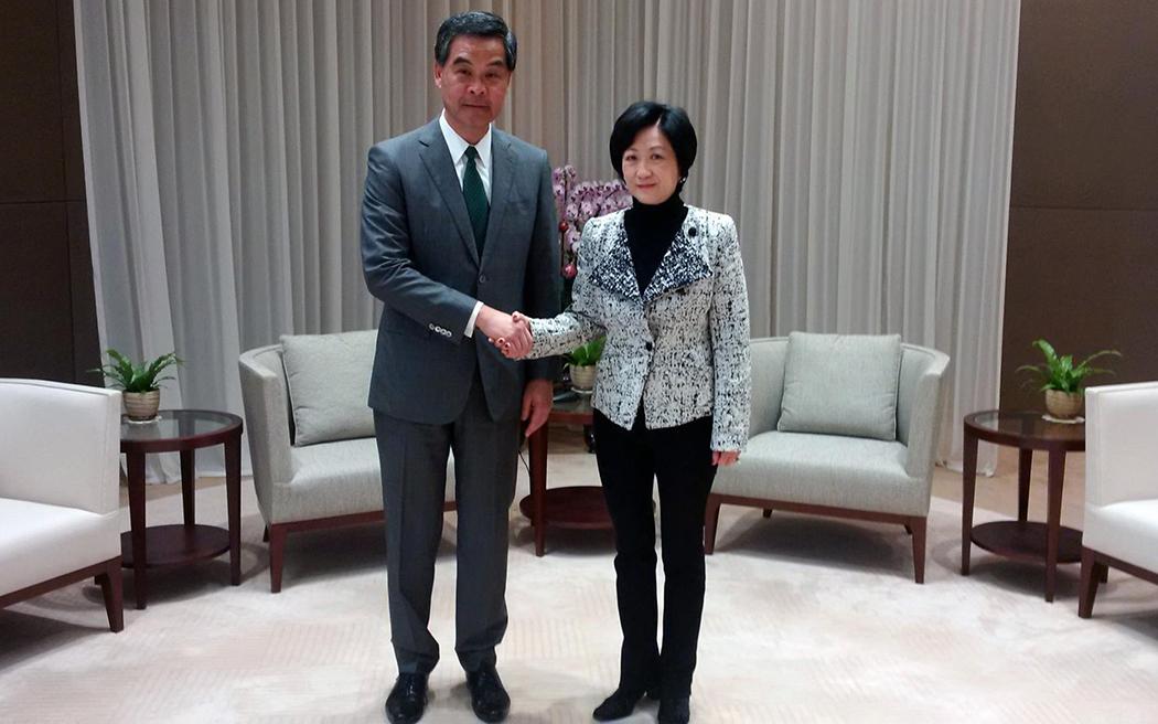 Leung Chun-ying Regina Ip