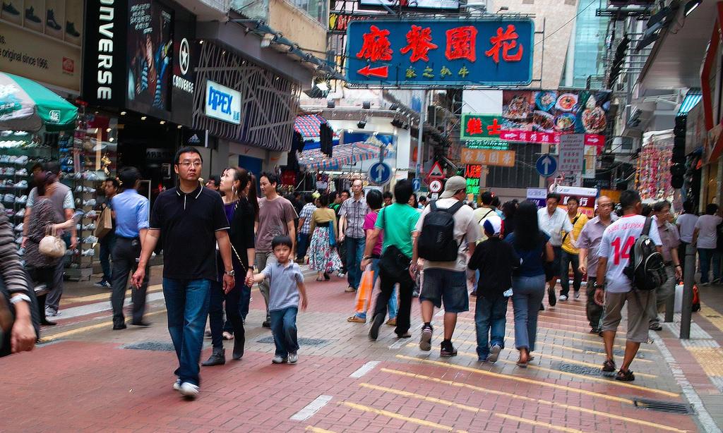 mong kok walkability