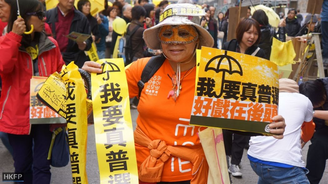 democracy cy leung protest