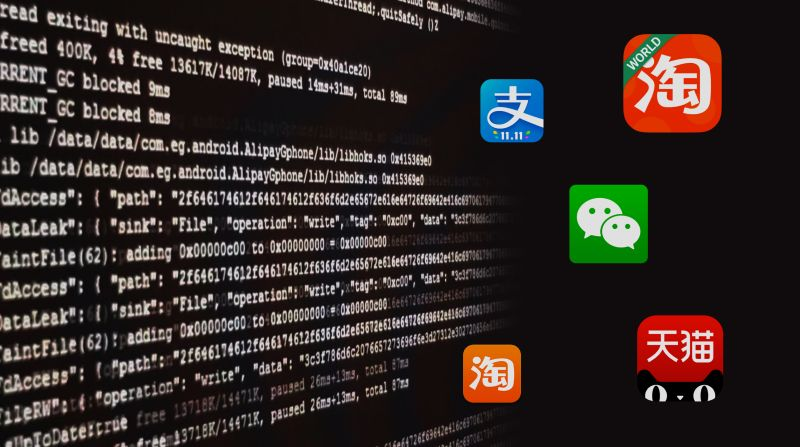 Five Chinese mobile payment apps record users' sensitive information