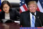 Tsai Ing-wen and Donald Trump