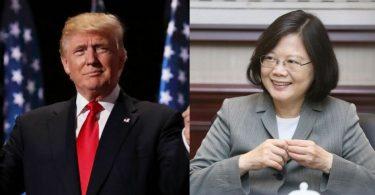 donald trump tsai ing-wen