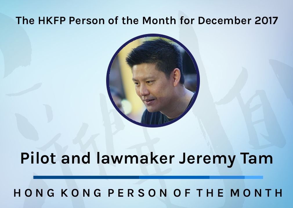 Jeremy tam person of month