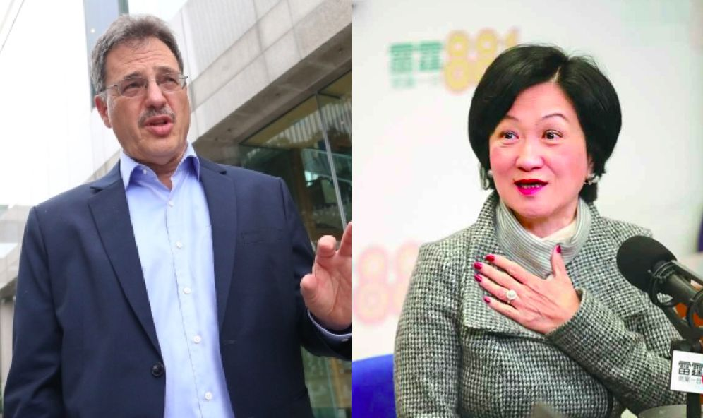 Regina Ip has 'better grasp' of democracy thanks to supervision of