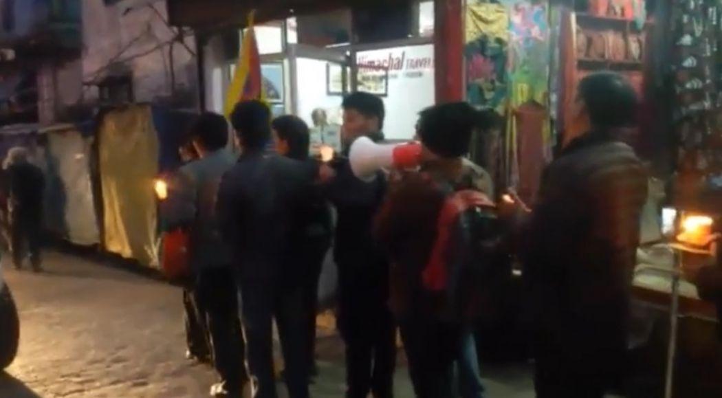vigil for Tashi Rabten