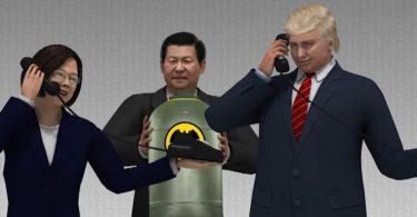 Tsai Ing-wen Donald Trump Xi Jinping