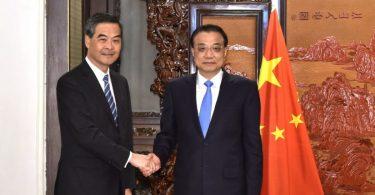 cy leung and li keqiang