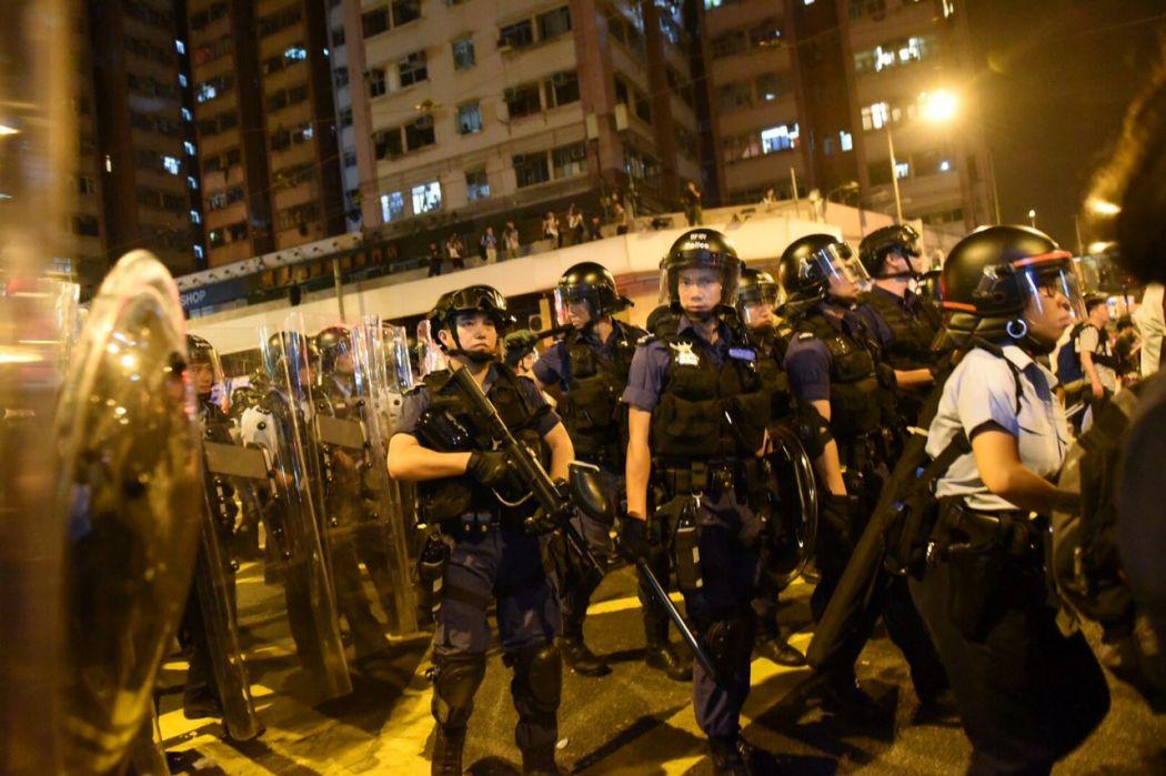 Baggio Leung Yau Wai-ching protest