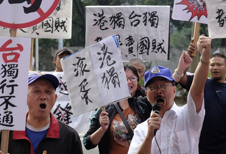 taiwan hong kong lawmakers