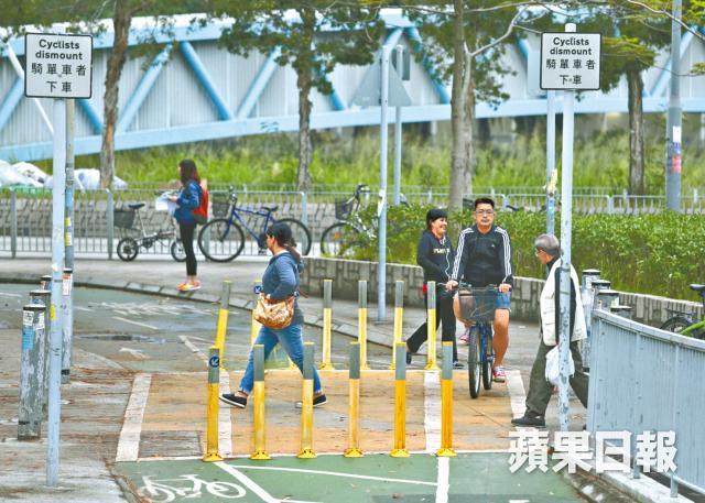 Cycle track yuen long