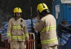 pokfulam bomb wwii evacuation firefighter fireman