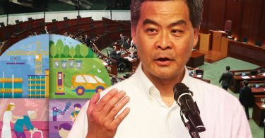 cy leung policy address 2017 live