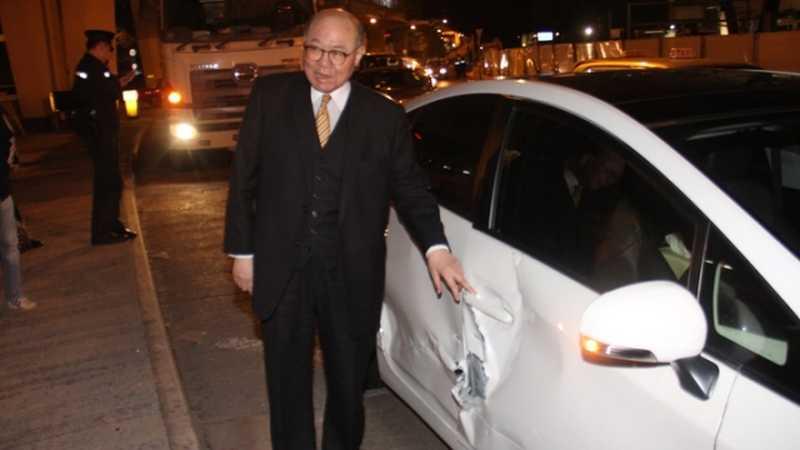 woo kwok hing car accident