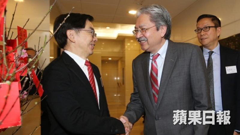 John Tsang Eddy Li Sau-hung