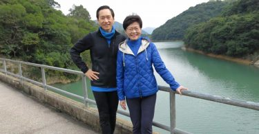 Carrie Lam Bernard Chan