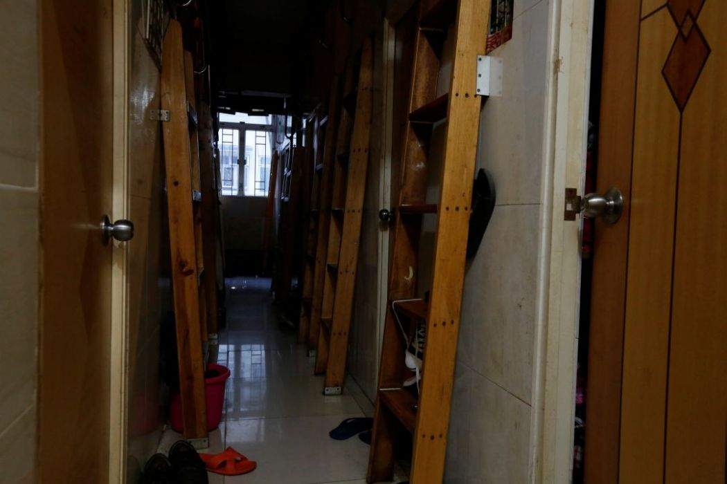 hong kong coffin homes poverty small property